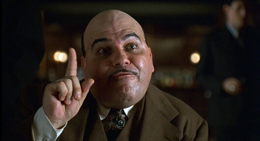 Jon Polito as Johnny Caspar has an idea