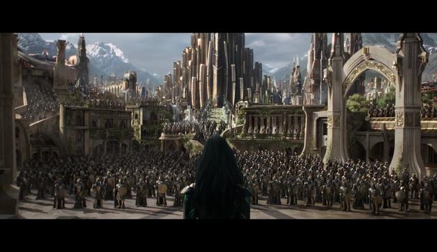 thor ragnarok hela asgard