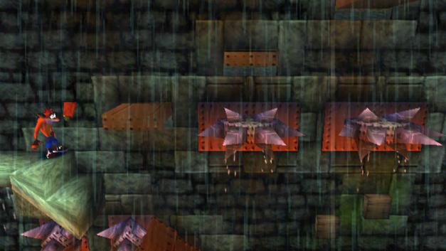 crash bandicoot stormy ascent level