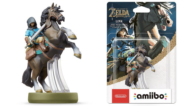 Rider Link Breath of the Wild amiibo