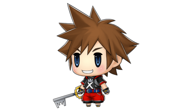 Sora Kingdom Hearts World of Final Fantasy DLC