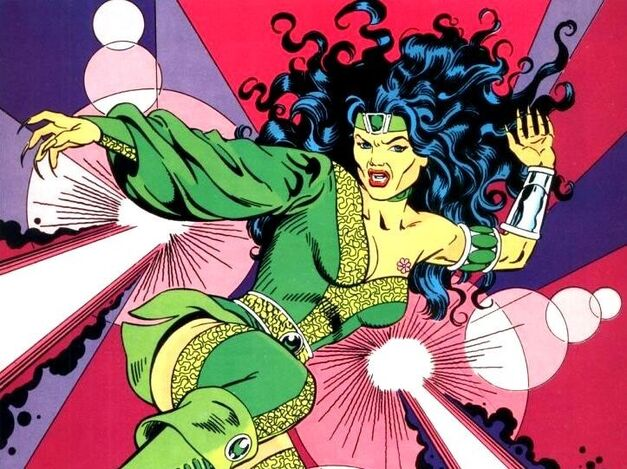 Green Arrow Teen Titans Villain Cheshire