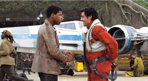 Finn Poe - Star Wars: The Force Awakens