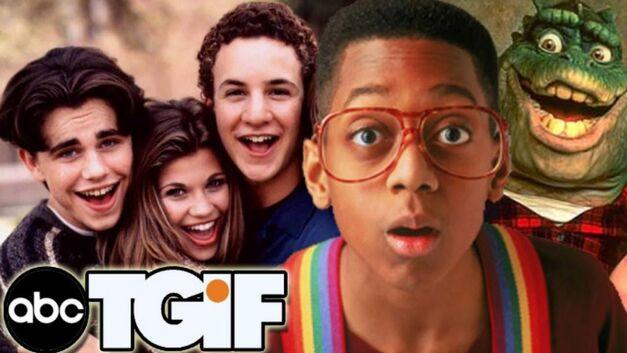 'Boy Meets World,' 'Family Matters,' and 'Dinosaurs' from the '90s TGIF lineup