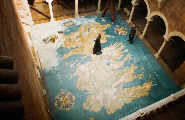 game of thrones cersei map