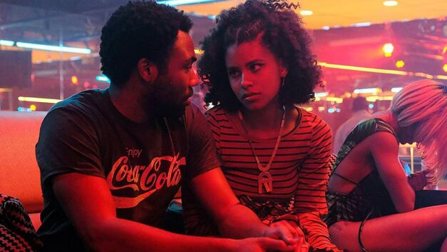 Donald Glover and Zazie Beetz in 'Atlanta'
