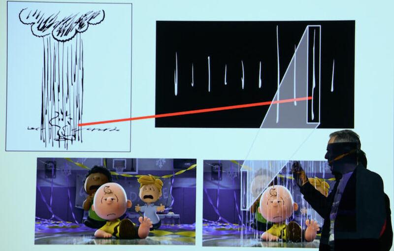 Peanuts Movie Rain Drops
