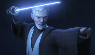 Obi-Wan and Darth Maul Battle on 'Star Wars Rebels'