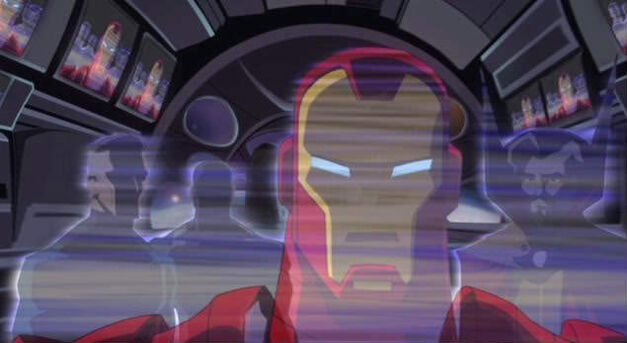 iron man animated