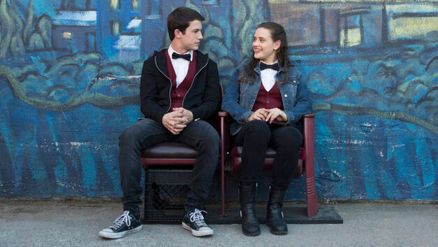 Clay and Hannah 13 Reasons Why season 1