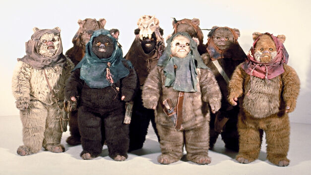Ewok Group Shot