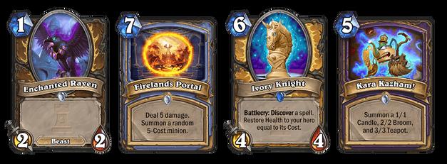 Karazhan cards