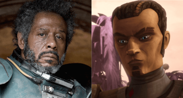 "George Lucas developed Saw Gerrera as an extremist before revealing his backstory in ""The Clone Wars."""