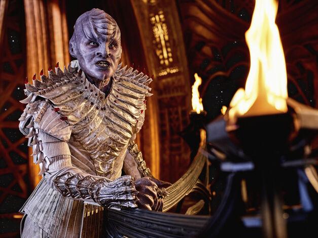 star trek discovery klingons l'rell