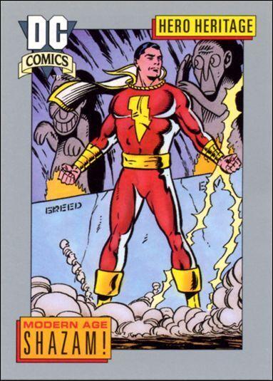 DC Comics Shazam Trading Card
