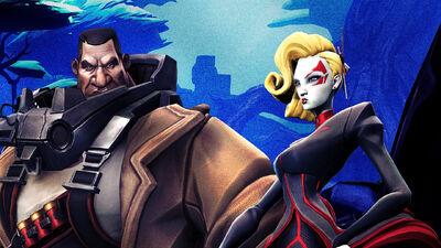 Deande and Ghalt Join 2K's 'Battleborn'