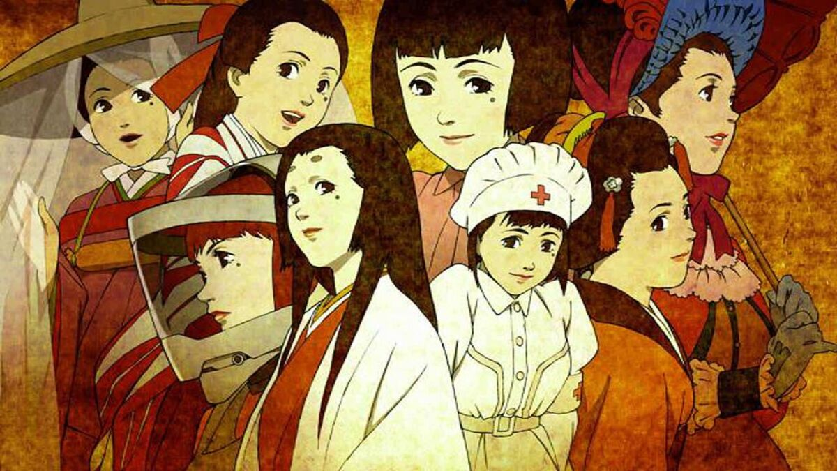 anime to watch with your grand parents Millennium Actress