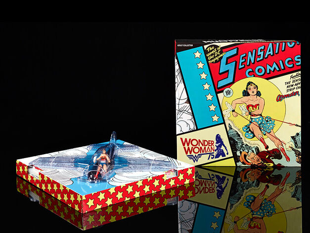 Toys SDCC exclusives Wonder Woman plane