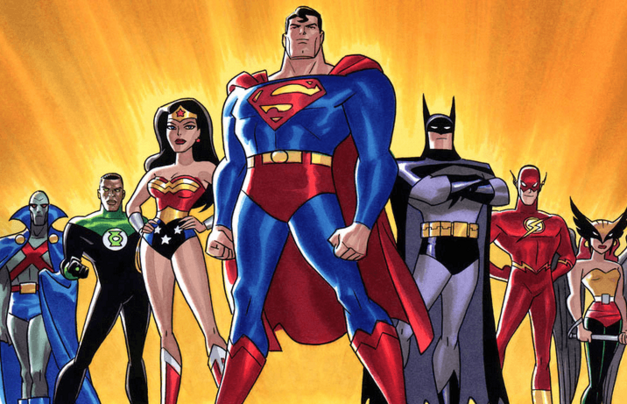 Justice League the animated series member lineup.