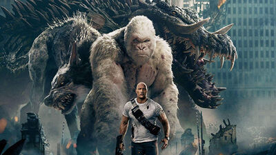 Could 'Rampage' Be a Prequel to 'The Walking Dead'?