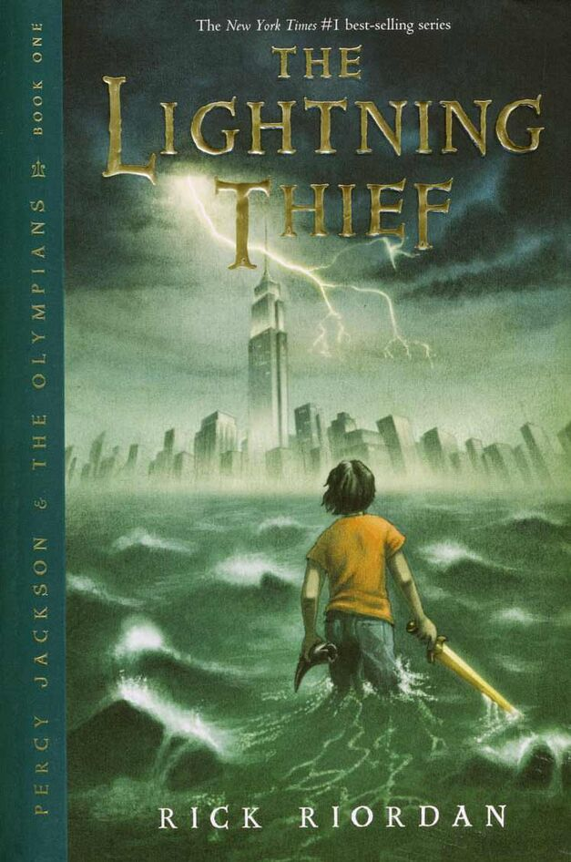 the-lightning-thief book cover