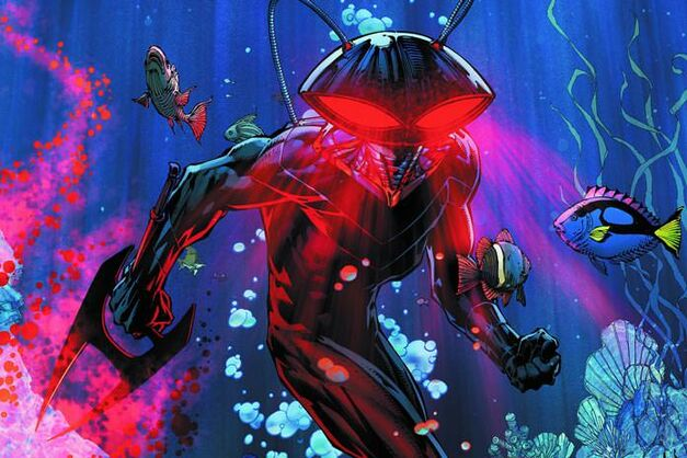 black manta aquaman suit