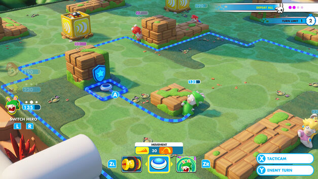 Mario + Rabbids Battle Kingdom preview
