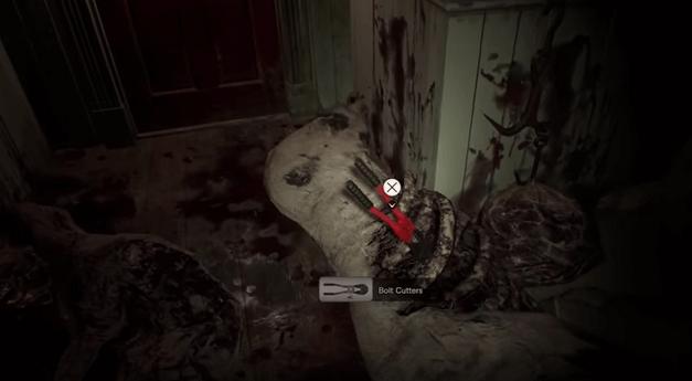 Resident Evil VR - Bolt cutters