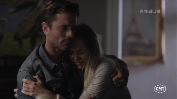 nashville recap reaction episode 3 father daughter relationship deacon maddie hugging