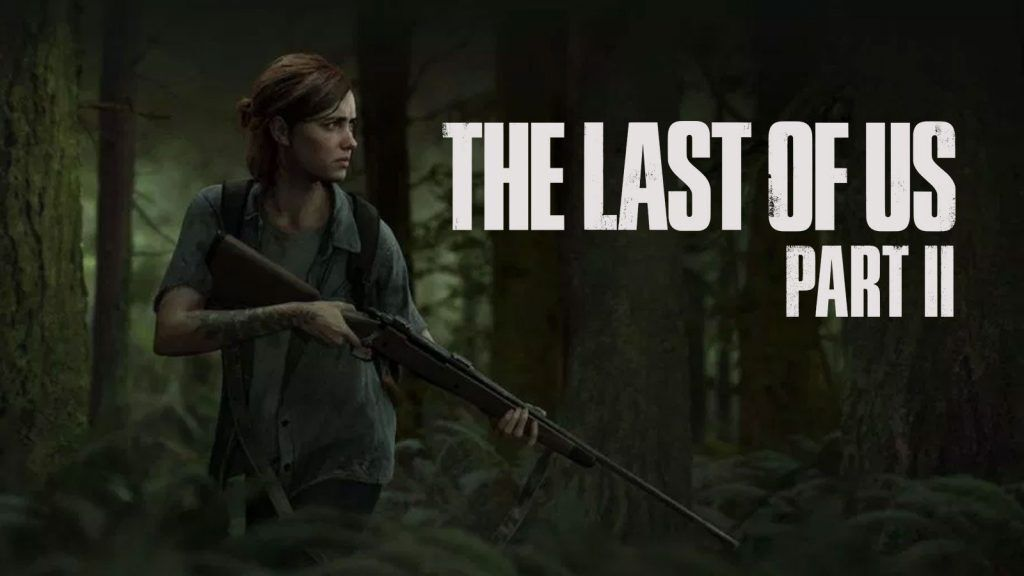 Ellie looks to the left holding a gun on the promo for The Last Of Us Part II Cover