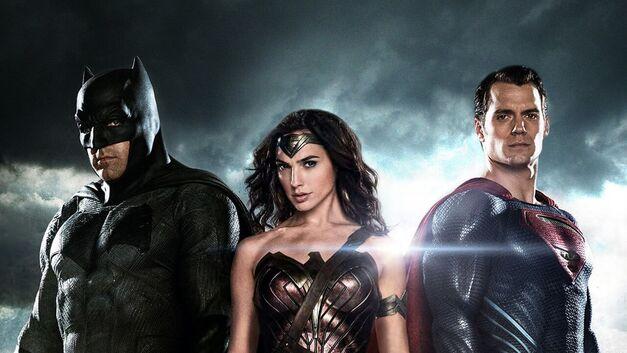 Batman v Superman trio