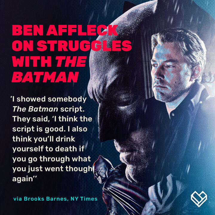 Ben Affleck reflects on his struggles after 'Justice League' drained his interest in Batman