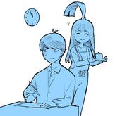上杉風太郎 生日慶生插畫(2018年4月15日)