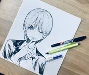 中野一花 書店用簽繪板(2018年11月6日)