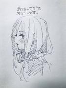 中野三玖 插畫(2018年11月23日)