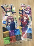 五等分的新娘 Comiket 95 特製日曆海報實品照