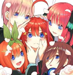 中野家五胞胎姊妹 資訊框