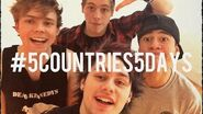 5Countries5Days Food Challenge - 5 Seconds of Summer