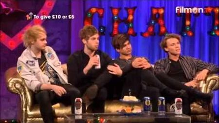 5SOS on Alan Carr- Chatty Man interview + Performance