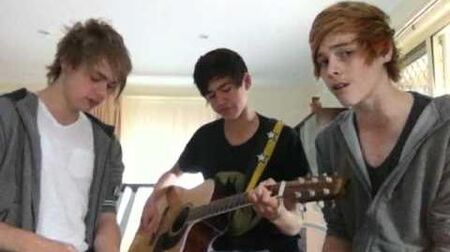 Chris Brown Justin Bieber - Next To You - 5 Seconds of Summer (cover)