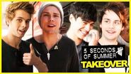5SOS - Philly Cheesesteak Challenge! - 5SOS Takeover Ep