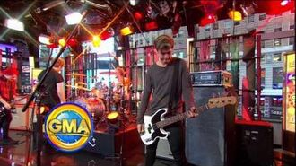 5 Seconds of Summer (5SOS) Intro + Interview GMA 30 9 14