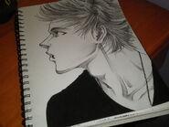 Luke hemmings turned anime by lozel da artist-d8eo7xx