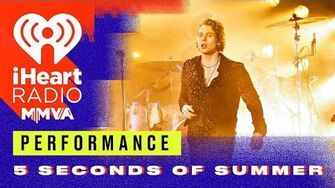 5 Seconds of Summer Perform 'Youngblood' 2018 iHeartRadio MMVA