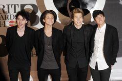 5sos at the 2014 brit awards