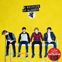 5 Seconds of Summer Target album yellow