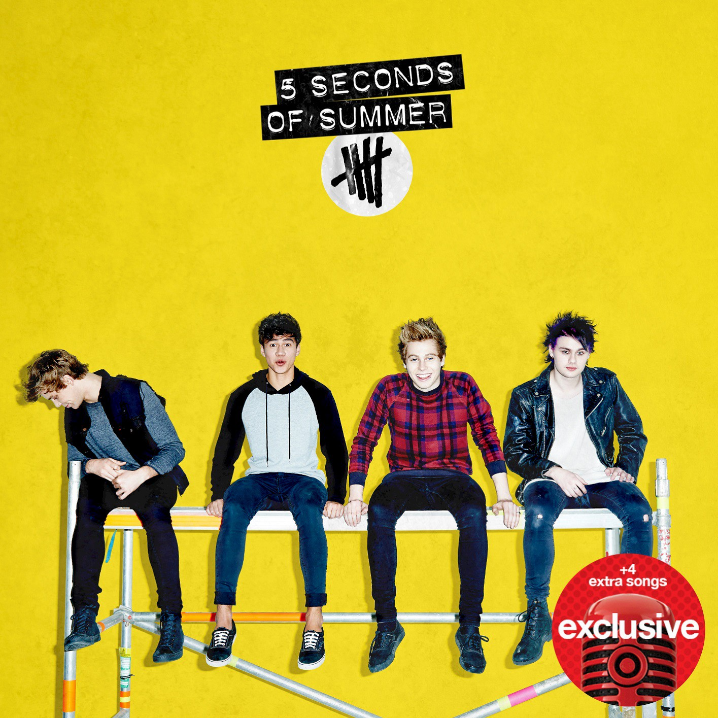 Image result for 5sos yellow background