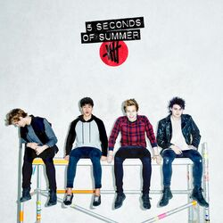 5 Seconds of Summer Target album white