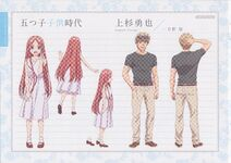 Character Profile Isanari Uesugi