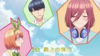 EP2 Miku denies liking Fuutarou to Yotsuba